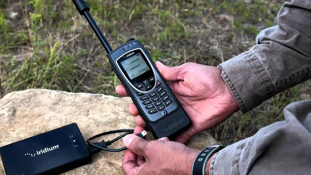 Связь при любых условиях вместе со спутниковым телефоном Iridium Extreme 9575