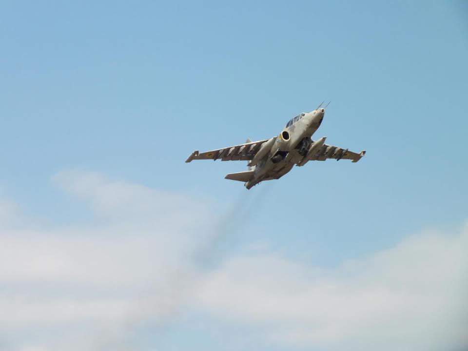 Воздушные Силы получили модернизированный Су-25