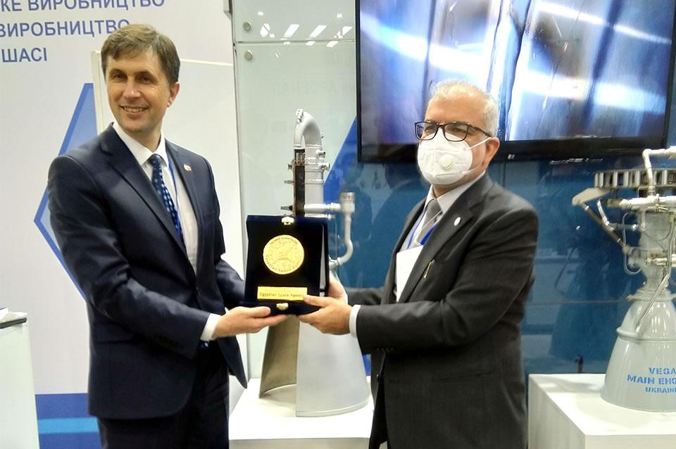 Украина планирует возобновить сотрудничество с Египтом в космической сфере
