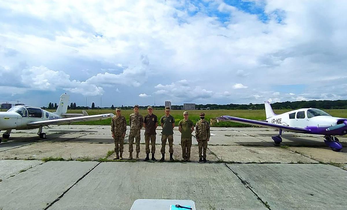 Состоялся уже очередной выпуск в АУКЦ Гражданского воздушного патруля