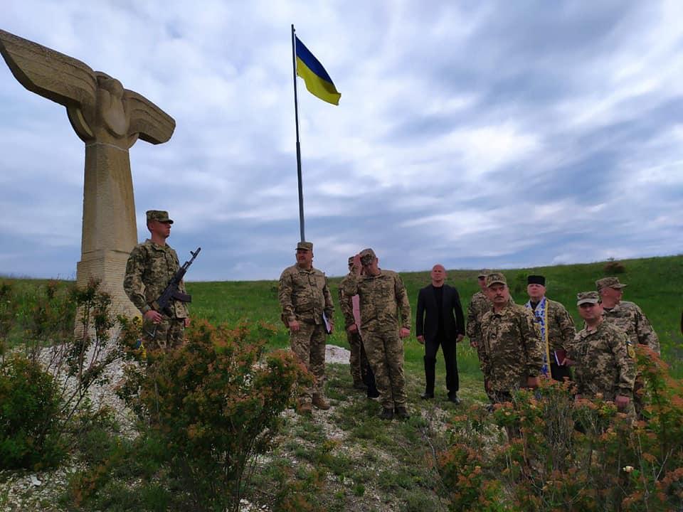 В Краматорске почтили память погибших членов экипажа самолета Ан-30Б