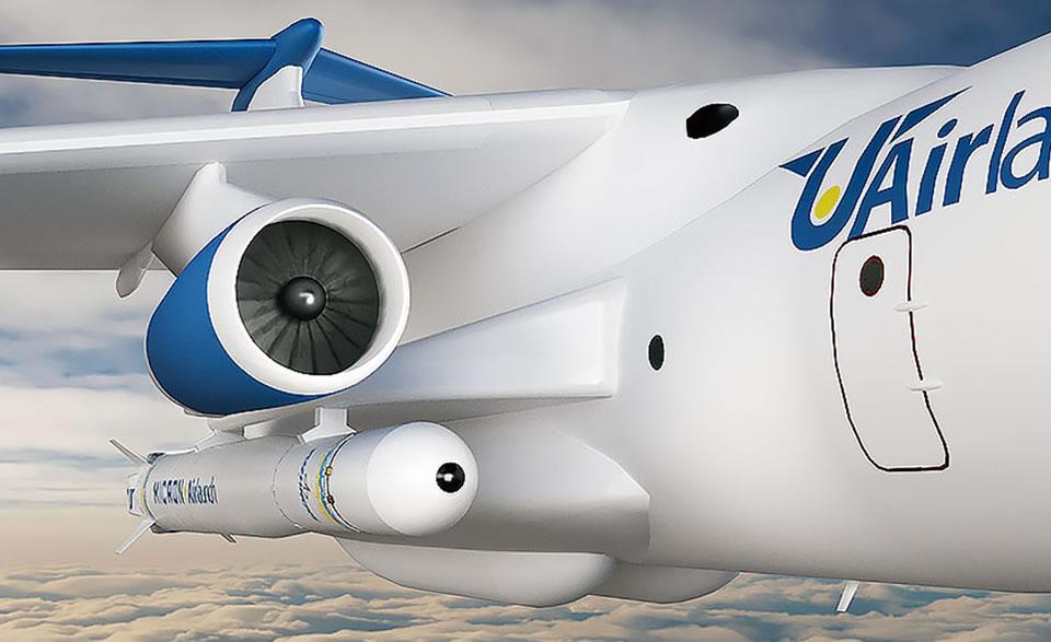 Размещение РН на самолете-носителе Ил-76Т(ТД)