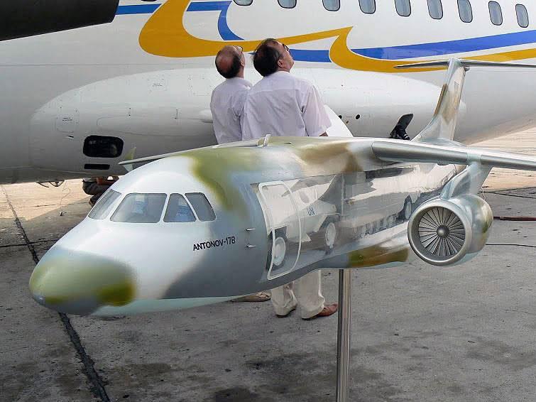 Первый полет нового транспортника Ан-178 состоится в 2014 году