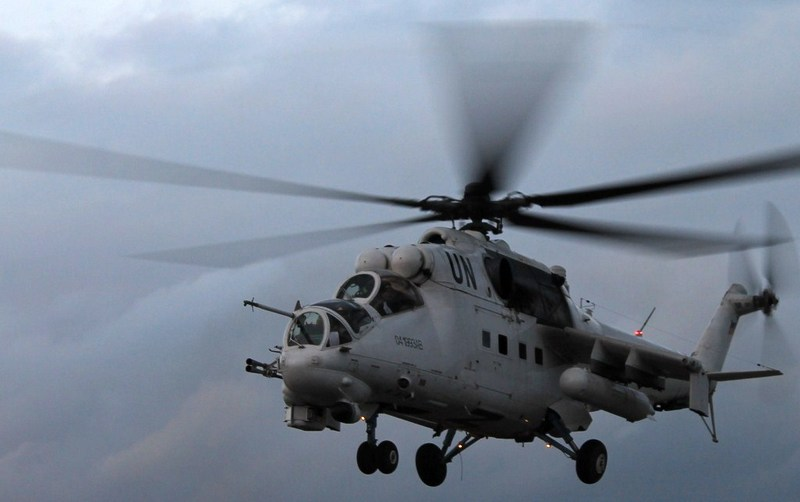 Минобороны дало 74 миллиона гривен на ремонт вертолетов