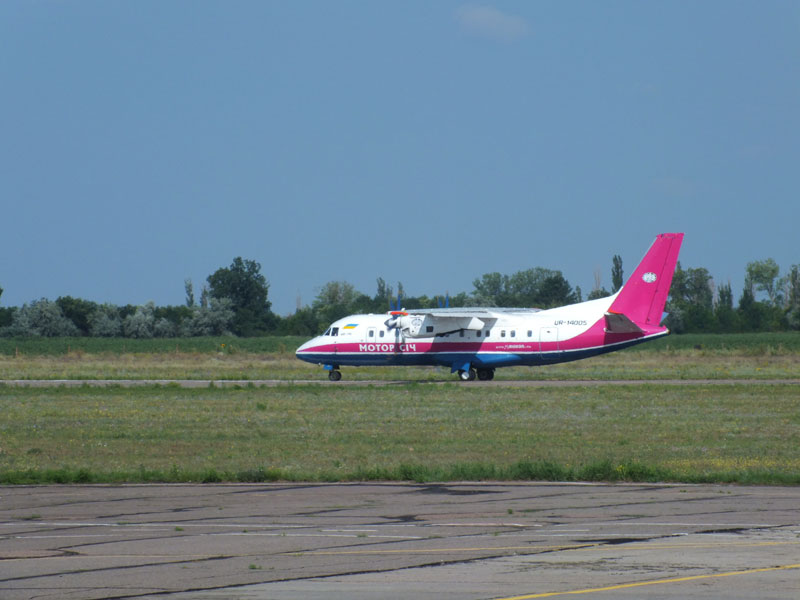 """Сегодня из аэропорта """"Херсон"""" отправлен первый авиарейс маршрутом Херсон-Москва"""