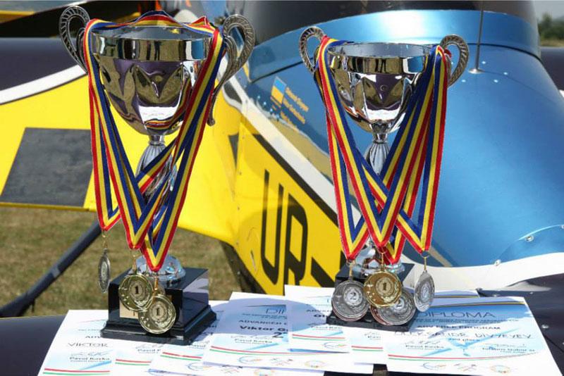 Победа украинской команды по самолетному спорту