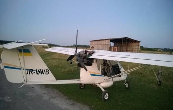 В пограничье задержан легкомоторный самолет