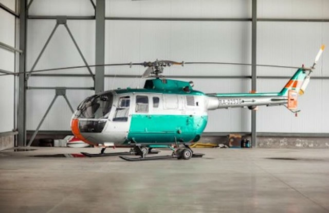 Вертолет Eurocopter Bo.105