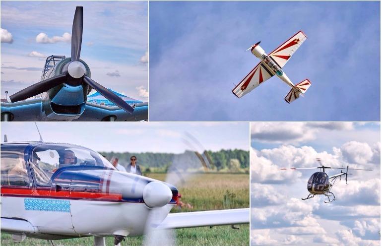 Житомир принял традиционный слет малой авиации имени Королёва.