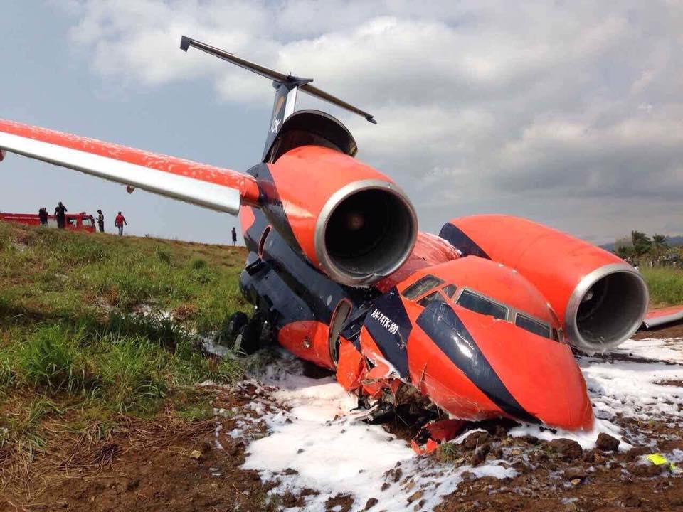 В Африке потерпел крушение  самолет Ан-74 украинской авиакомпании