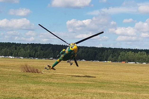 Под Минском чудом не разбился вертолёт