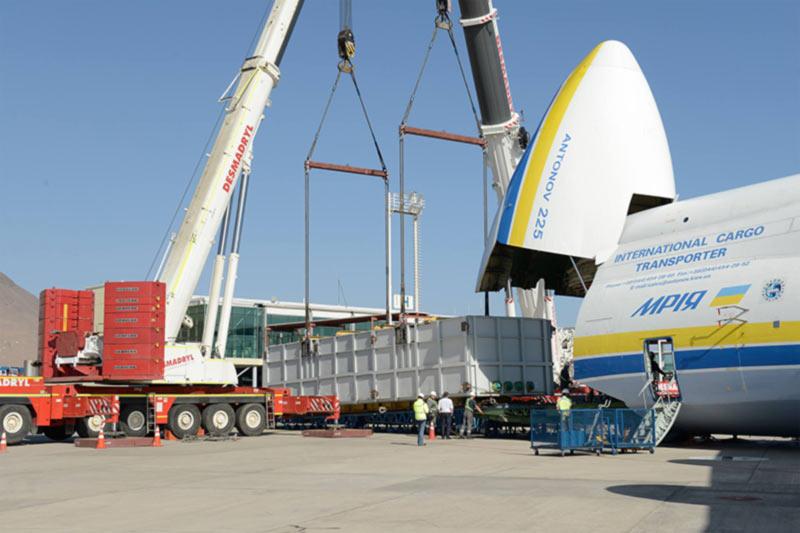 Ан-225 успешно завершил самую длительную серию полетов
