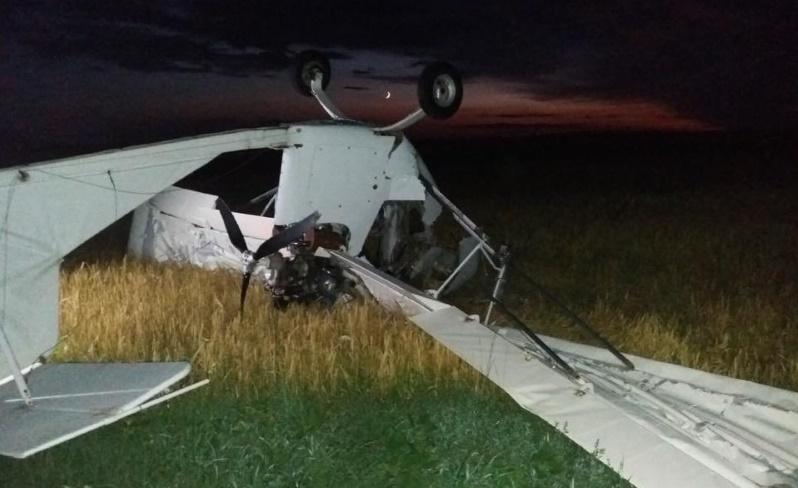 В Сумской области разбился уже второй самолет за несколько дней