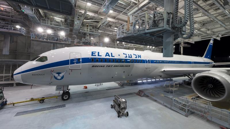 EL AL представляет: новый авиалайнер в ретро-стиле!!!