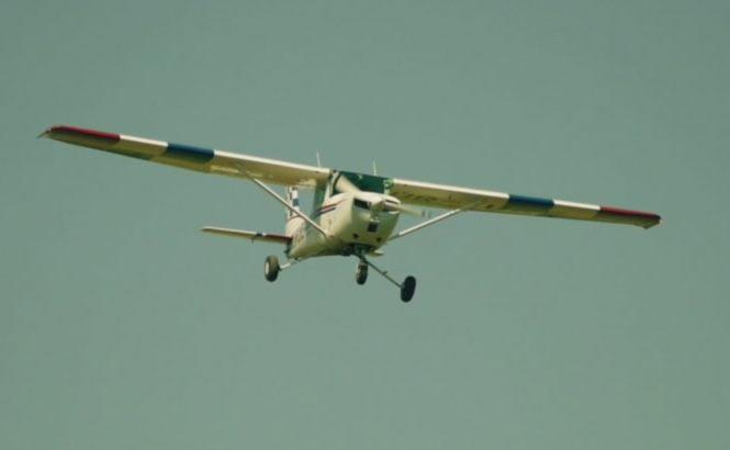 Полеты и выставка самолетов в Коломые