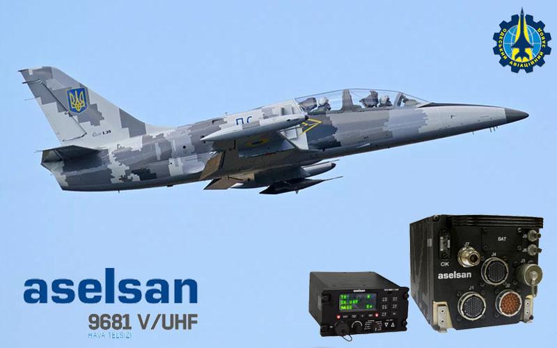 Самолет Л-39 ВСУ прошел успешные испытания с радиостанциями Aselsan