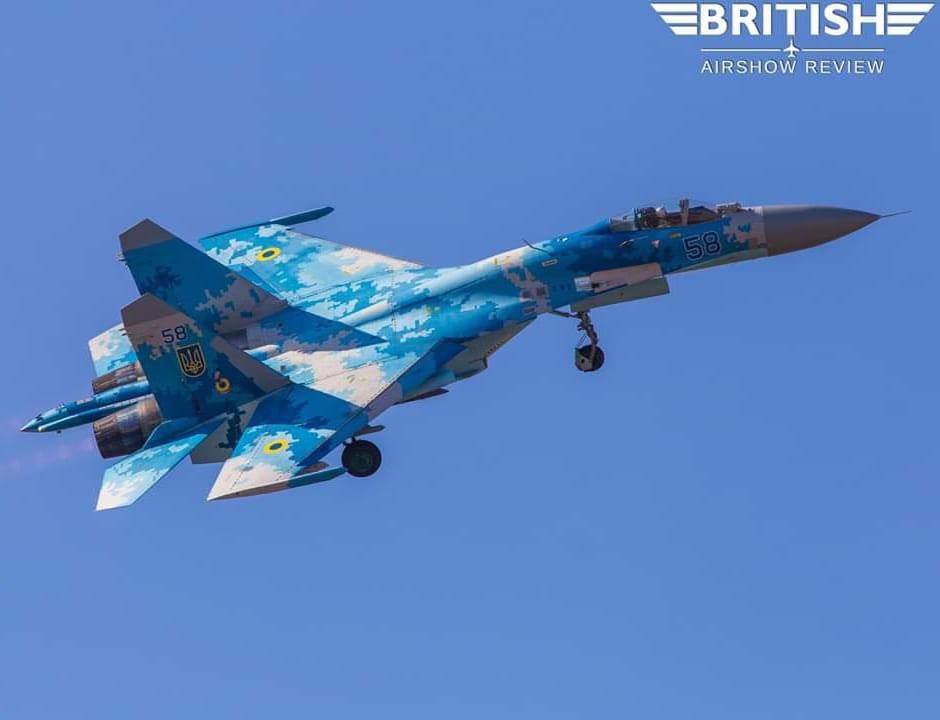 Воздушные Силы Украины на британском авиашоу представит полковник Юрий Булавка