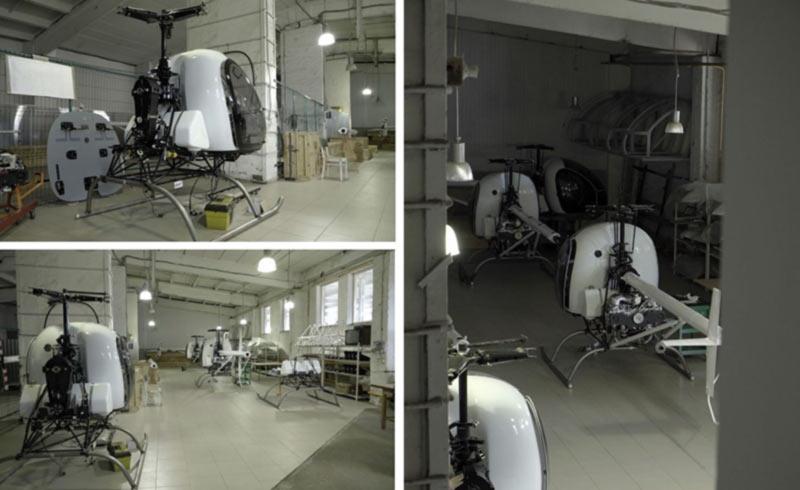 Компания Аэрокоптер изготовила уже более ста вертолетов АК1-3
