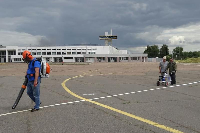 В Черкасском аэропорту начали подготовку к сертификации аэродрома