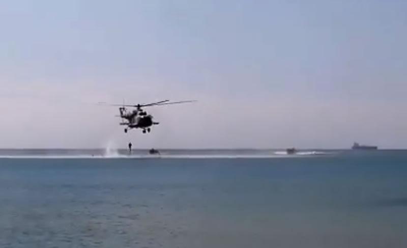 Будущие разведчики провели десантирование по-штурмовому