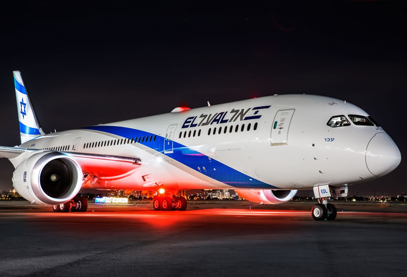 В аэропорт Бен-Гурион прибыл 11-й авиалайнер Boeing 787 Dreamliner El Al