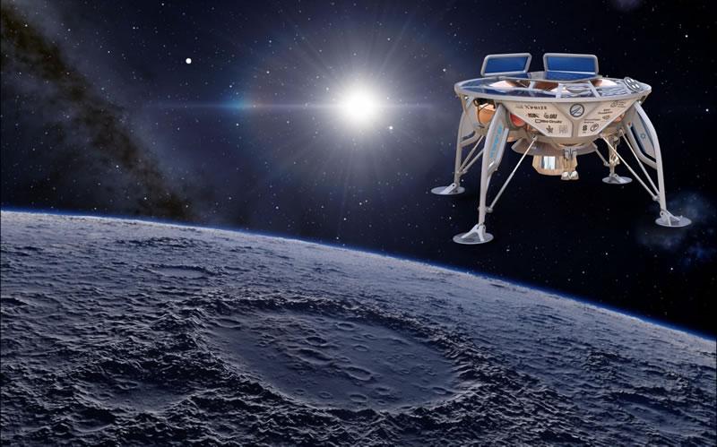 Компания с украинскими корнями построит лунный посадочный модуль