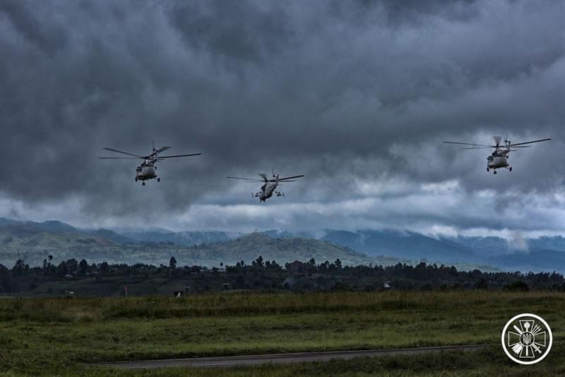 Вертолетчики 18 ОВО провели летную смену ночью