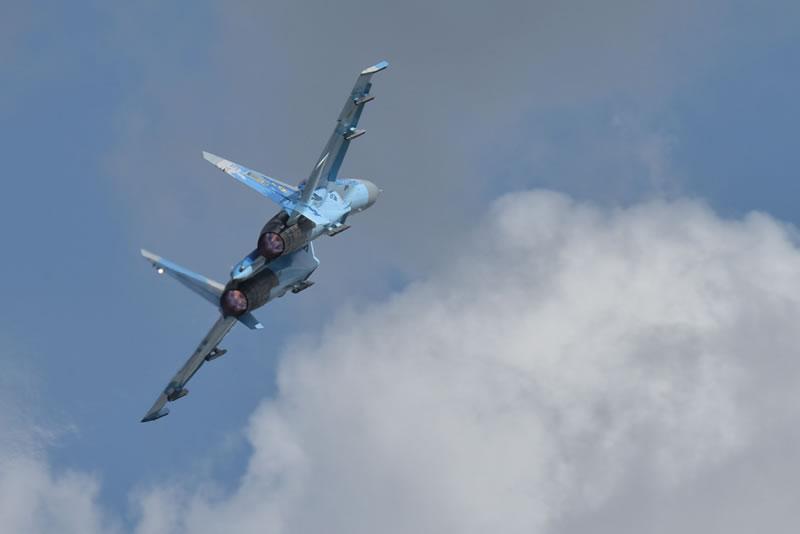 Украинские летчики приняли участие в праздновании 100-летия ВВС Литвы