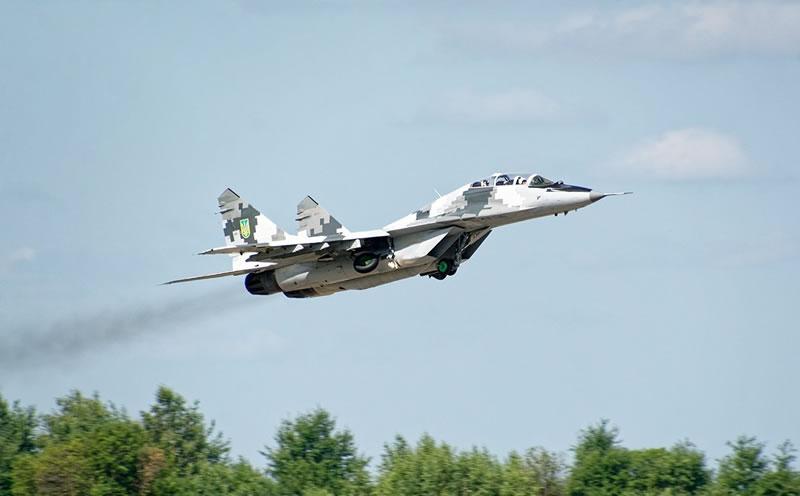 В Луцке летают МиГ-29