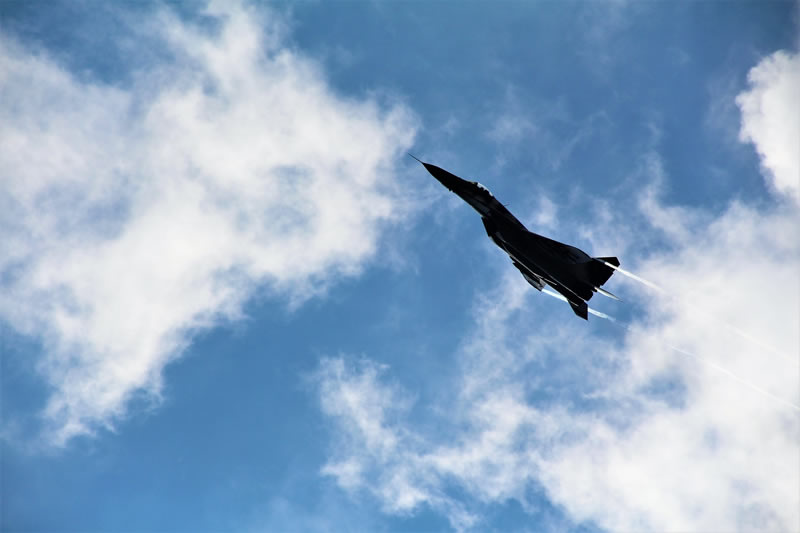 Военная авиация приняла участие в учениях в зоне ООС