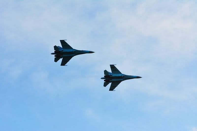 Украинские летчики вернулись с британского авиашоу
