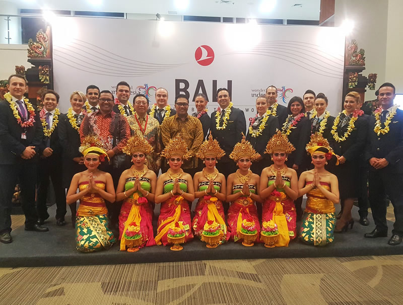 Авиакомпания Turkish Airlines добавила всемирно известный курортный остров Бали (Индонезия) в свою сеть маршрутов