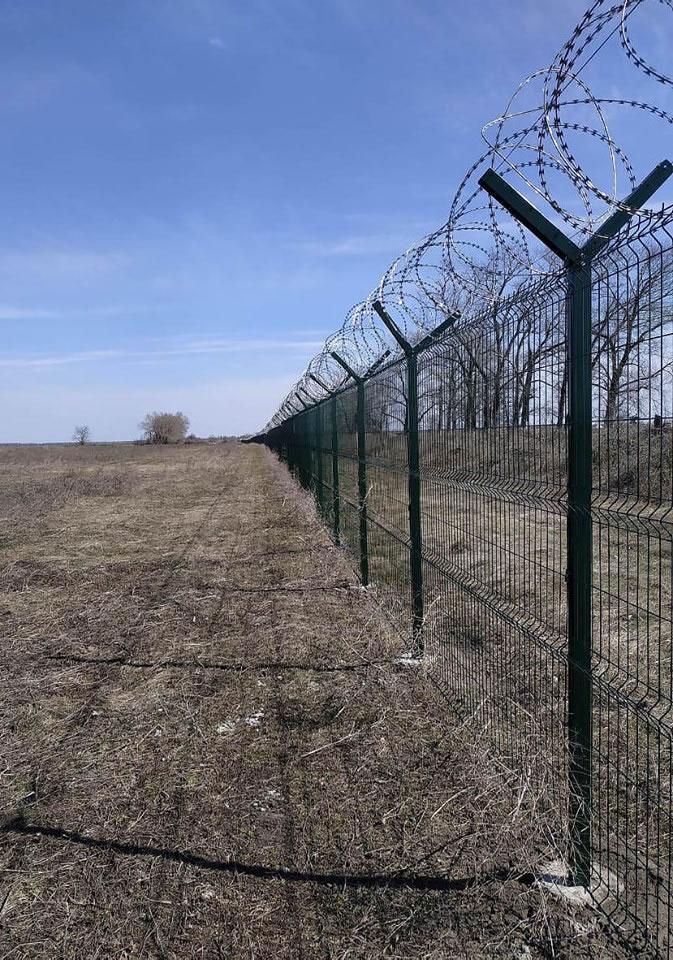 Ограждение на военном аэродроме под ключ