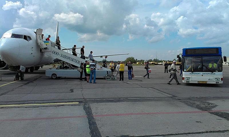 В сентябре запорожский аэропорт закрывается на ремонт