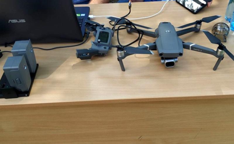 В Полтавской области использование земель будут мониторить с помощью дрона