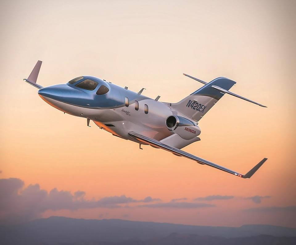 Королева небес и компании Novans Jets HondaJet Elite