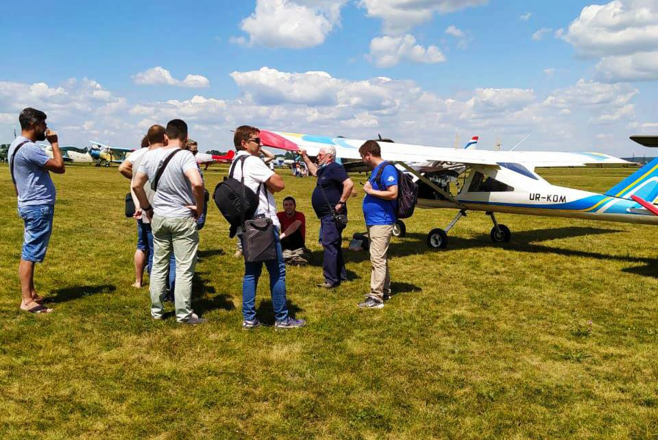 Новая группа Школы пилотов приступила к занятиям