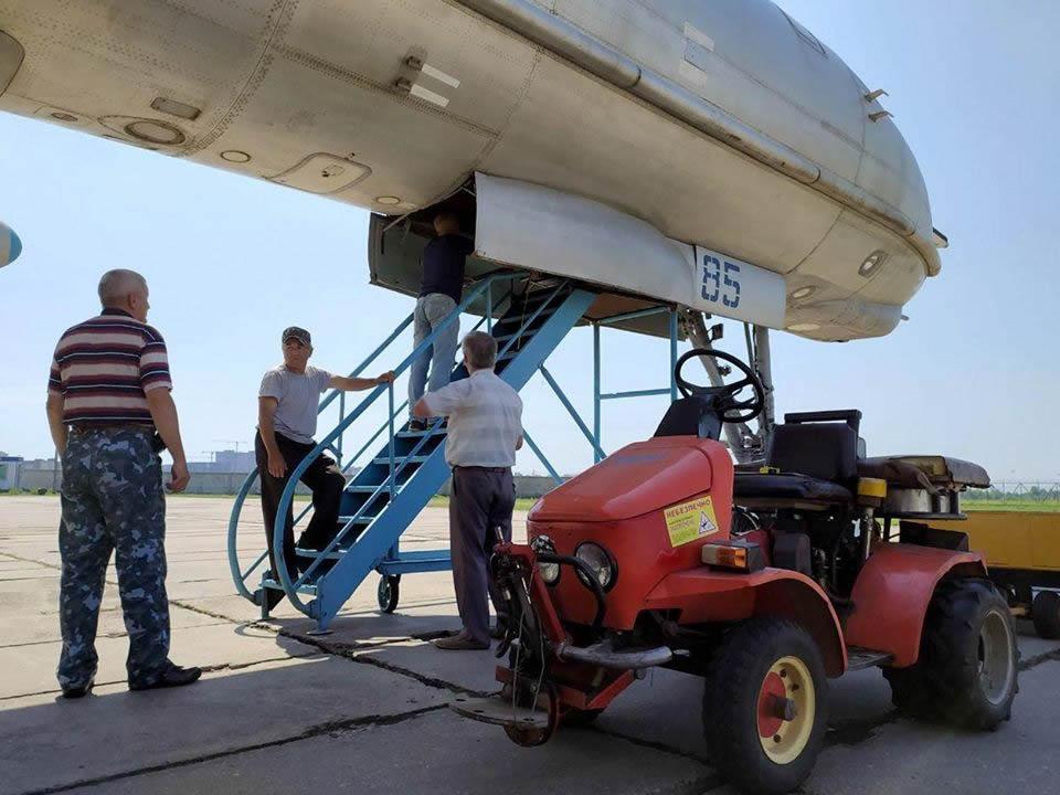 В Государственном Музее авиации готовятся открыть кабину Ту-142