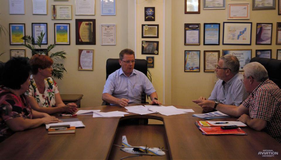 НАУ подписал Соглашения о сотрудничестве по подготовке авиаспециалистов