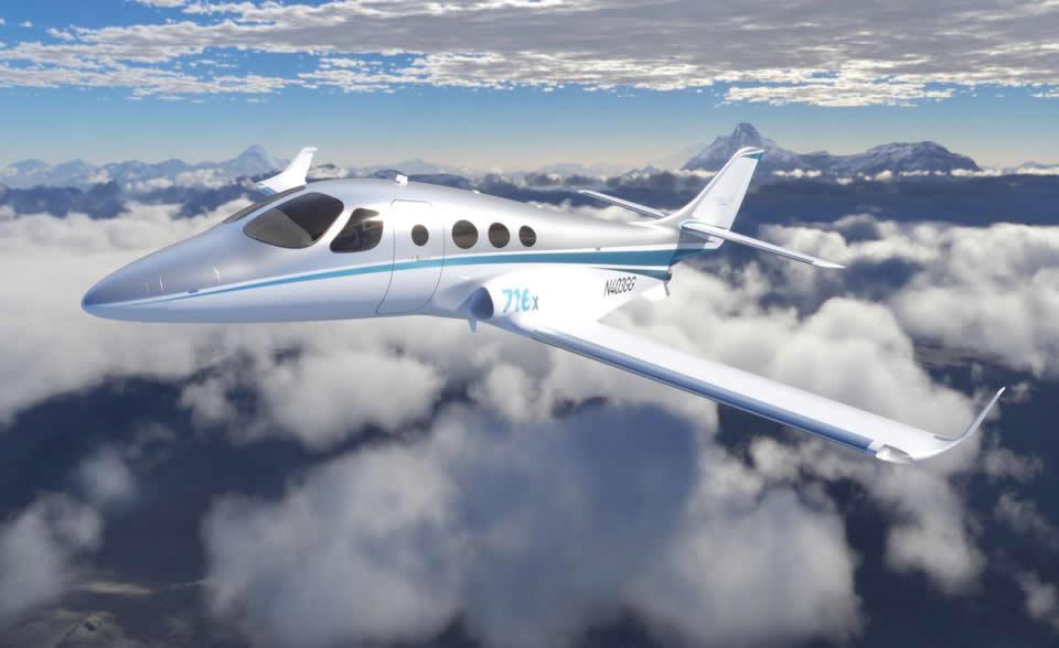 Stratos 716Х - один из ряда самолетов, предлагаемых Novans Jets