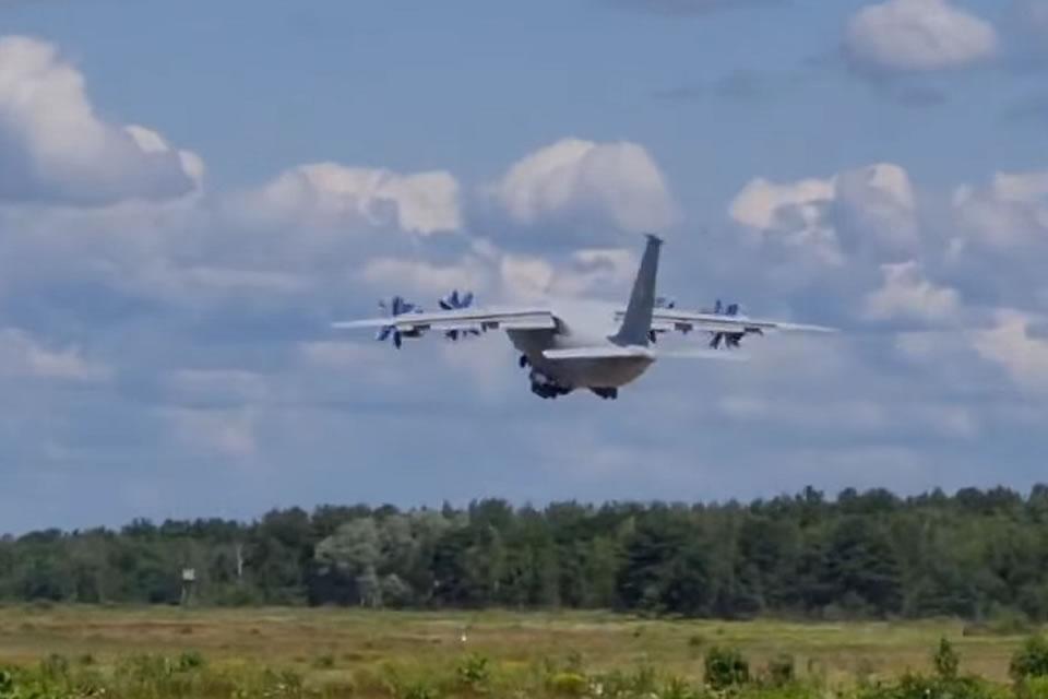 Ан-70 снова поднялся в воздух