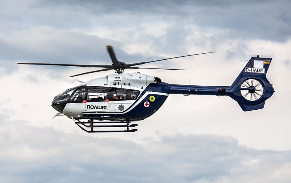 Пятый вертолет H145 для полиции уже во Львове