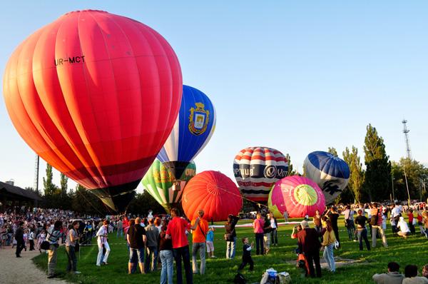 24 августа под Киевом стартует 3-й  Международный фестиваль воздушных шаров «Воздушные приключения в Киевской Руси»