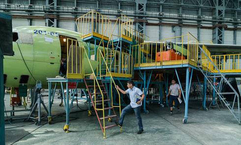 Как в Украине самолеты создают