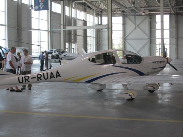 Получение лицензии пилота в Харькове и стоянка для бизнес-авиации