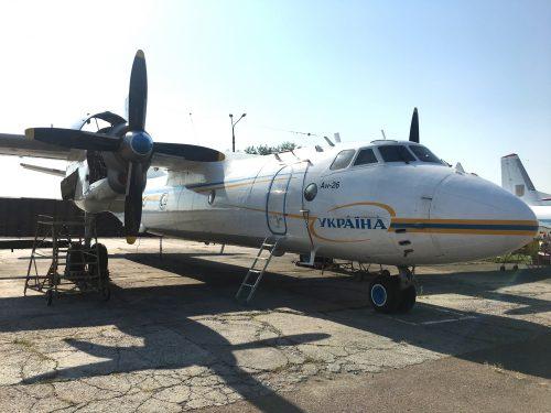 """ГП """"ЗАВОД 410 ГА"""" передал Национальной Гвардии Украины самолет Ан-26"""