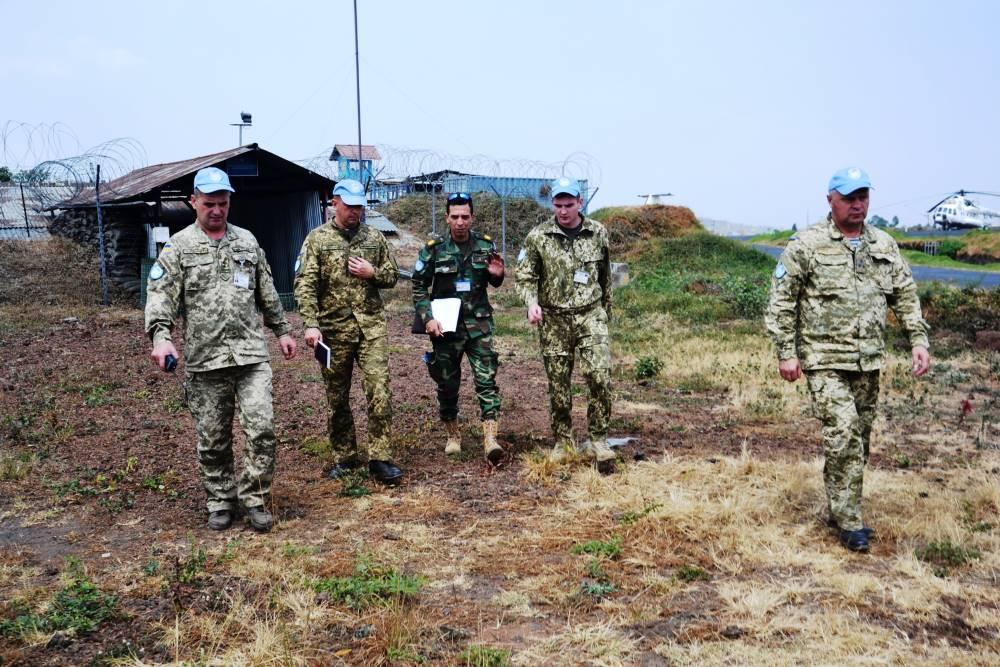 Украинский авиаотряд - один из самых боеспособных миротворческих подразделений в ДР Конго