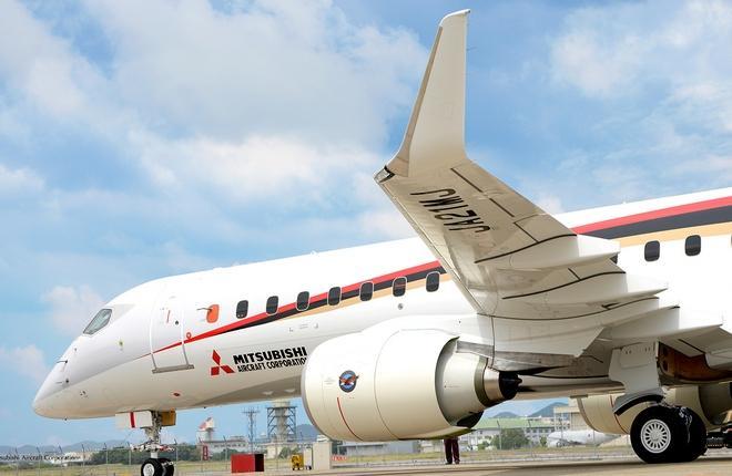 Приостановлены летные испытания регионального самолета MRJ