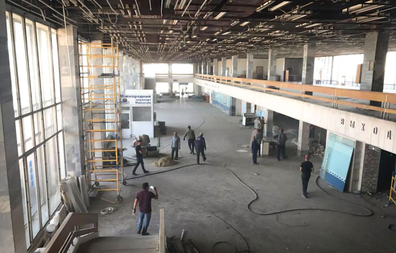 Аэропорт «Николаев» повторно объявил тендер на монтаж систем освещения