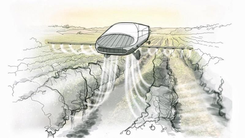 Urban Aeronautics запускает производство БПЛА для опрыскивания полей